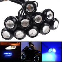 10x 18mm LED Eagle Eye Light Car Fog DRL Reverse Backup Parking Turn Signal Lamp