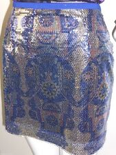 COOPER STREET Sequin Mini Skirt Size 10 US 6