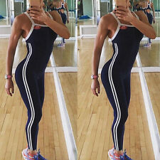Women Sports Gym Yoga Running Fitness Leggings Pants Jumpsuit Trousers Playsuits