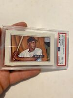 Willie Mays PSA 8 Bowman Collector Card Investment Man Cave 1989 Vintage Insert