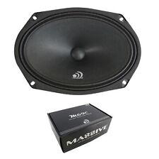 "6x9"" Midrange Sealed Back Speaker 240W 8 Ohm Pro Car Audio Massive M69C"