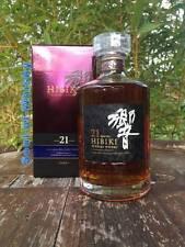 Hibiki Suntory 21 Jahre Rare Selten 0,7 L mit 43% Japanischer Whisky