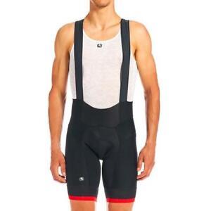 Giordana Cycling Bibs Shorts FR-C PRO|Mens-Black/Red|BRAND NEW