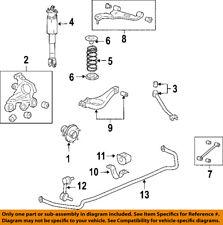 Cadillac GM OEM 04-09 SRX Stabilizer Sway Bar-Rear-Bushing 25758596