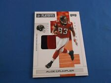 Playoff NFL Playoffs 2007 Materials PRIME Short Print SP Alge Crumpler 5 1/5