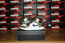 "Nike AIr Jordan 1 Mid ""Metallic Gold"" GS Size 5Y,6Y,7Y - DC1420-700- Brand New"