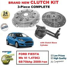 FOR FORD FIESTA Mk VI 1.4TDCi 68/70bhp 2009->on BRAND NEW 3PC CLUTCH KIT and CSC