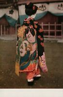 Unused Geisha Girl Japan / Japanese Vintage Postcard