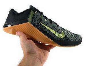Nike Metcon 6 Camo 'Black Limelight' Men's Size 7/Women's Size 8.5 [CK9388-032]