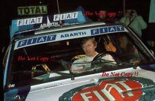 Walter Rohrl FIAT ITALIA FIAT 131 ABARTH Monte Carlo Rally 1980 fotografia 4