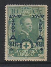 Spain - 1927, 10c Red Cross Optd stamp - F/U - SG 420