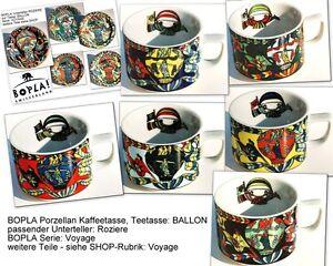 BALLON BOPLA Porzellan Kaffeetasse 0,18l Teetasse Cup Taza stapelbar VOYAGE Seri