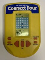 1995 CONNECT FOUR Milton Bradley Handheld Electronic Game Vintage Tested Working