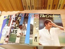 'The Cricketer' International All 12 issues from 1976 Complete run Exc con