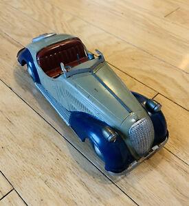 Vintage Germany-U.S. Zone Distler Wanderer Wind-Up Touring Car. #A44
