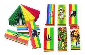 Bob Marley Rasta Filter Tips Booklet Rolling tips Tobacco Cigarette 500 leaves