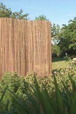 8m x 2m Bamboo Slat Screening -  Screen Roll -  Fence - Garden Fencing Panel