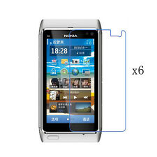 6x HD Clear LCD Front Screen Protector Skin Film Guard Cover Shield for Nokia N8