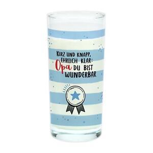 Sheepworld Trinkglas OPA Trinkglas »Opa, Du bist wunderbar!«Glas