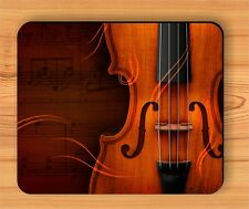MUSIC VIOLIN INSTRUMENT CLOSE UP MOUSE PAD -mbn7Z