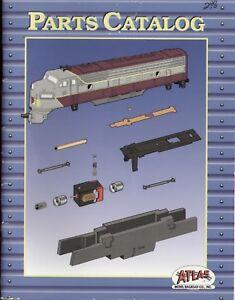 catalogo ATLAS Model Railroad Parts Catalog HO & N 1993              E      bb