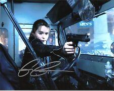 Emilia Clarke Autographed 8 x 10 Photo