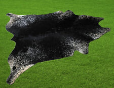 "New Cowhide Rugs Area Cow Skin Leather 18.72 sq.feet (55""x49"") Cow hide U-8404"