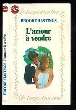 "Brooke Hastings : L'amour à vendre - N° 11 "" Editions J'ai lu / Duo"