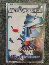 RARE Ultraviolence Life Of Destructor Cassette -Still Sealed-
