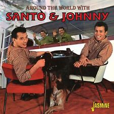 SANTO & JOHNNY - AROUND THE WORLD WITH SANTO & JOHNNY  CD NEW+