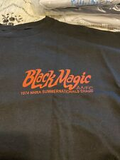 NHRA Tee shirt. Black Magic  Al Segrini