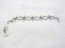 Lucky Brand Silver/Turq Stone Bracelet