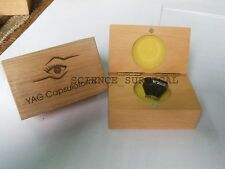 Very low cost) Iridectomy Lens (For YAG Laser)+Capsulotomy Lens (For YAG Laser)