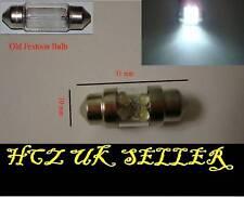 2x ULTRA 31MM 4 LED INTERIOR FESTOON LED BULB 269 C5W WHITE UK