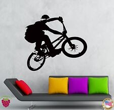 Wall Stickers Vinyl Decal Bike Biker Extreme Street Teen Sport  (z2113)
