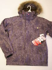 QUIKSILVER MEN'S CONQUER SNOW JACKET - SMALL - MUD - NWT