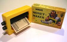 MAGIC MONEY MAKER PRINTER Toy Trick Dollar Bill Machine Changes Beginner Joke