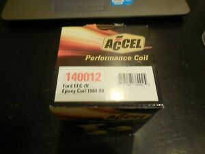 NEW Accel Performance Ignition Coil Ford EEC-IV Epoxy Coil 1984-1998  #140012