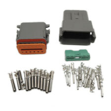 1 sets Kit  DT 12 Pin Waterproof Electrical Wire Connector plug Kit 22-16