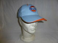 casquette bleue GULF OIL ( 911 917 FORD GT 40 24 HEURES MANS 356 RS GT3 RACING