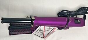 InStyler Milana Hot Brush Curling Iron Model IS1001 Purple Pre-owned