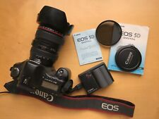 Canon EOS 5D Mark I + 24-105mm f/4L IS USM lens  - Black