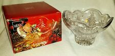 """MIKASA CHRISTMAS NIGHT FOOTED 6"""" BOWL -- PRE-OWNED"""
