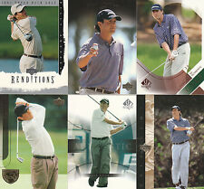 26 BILLY ANDRADE GOLF CARD LOT UD SPA 2003 - 2004