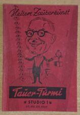 Heitere Zauberkunst Studio 1 Erich Tauer-Turmi 1969 zaubern Zauberei Zauberer