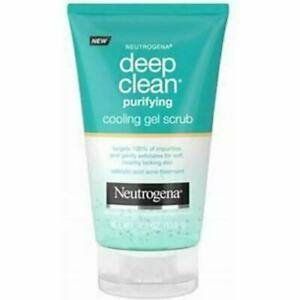NEUTROGENA Deep Clean Purifying Cooling Gel Scrub - 4.2 ounce tube