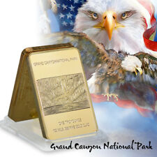 WR 24K Gold Bullion Art Bar Iron Eagle Gold Collectable Coin Gifts for Husband