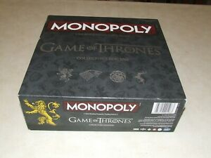 Monopoly - Game of Thrones Collectors Edition - Complete