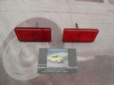 ISE466 JUEGO CATADIOPTRICOS TRASEROS ROJOS SEAT 1430 1ª SERIE ( TORNILLO 4 cm )