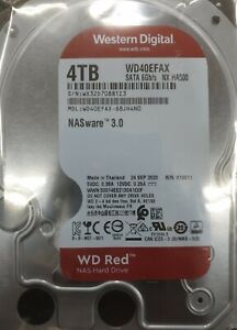 DISCO DURO WESTERN DIGITAL 4TB WD40EFAX NASWARE  3.0 WD RED NAS HARD DRIVE